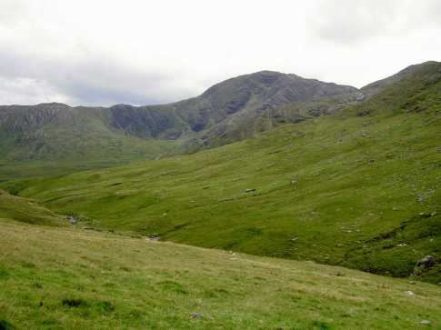 MountainViews.ie Picture about mountain An Corr�n in area Dunkerron Mountains, County Kerry, Ireland