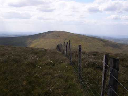 MountainViews.ie Picture about mountain Mullaghclogher in area Sperrin Mountains, County Tyrone, Ireland