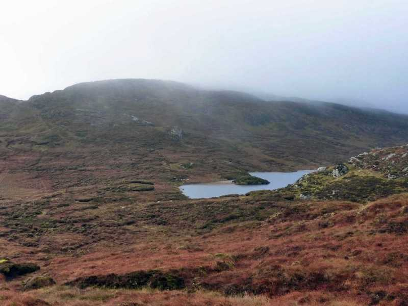 MountainViews.ie Picture about mountain Carnaween in area Bluestack Mountains, Ireland