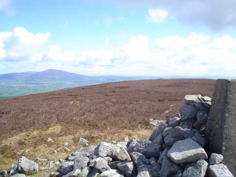 MountainViews.ie Picture about mountain Laghtnafrankee in area Comeragh Mountains, Ireland