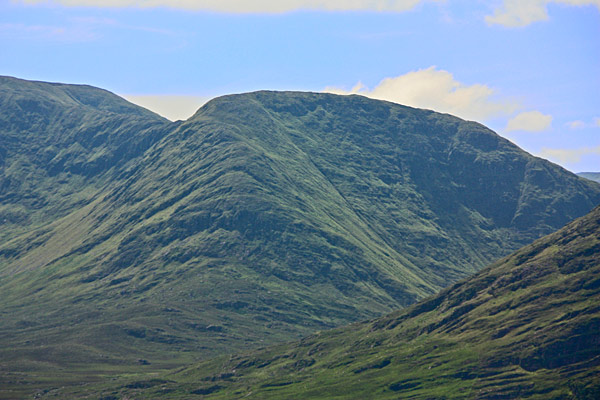 MountainViews.ie Picture about mountain Knocklaur in area Partry/Joyce Country, Ireland
