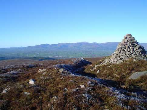 MountainViews.ie Picture about mountain Farbreaga in area Knockmealdown Mountains, Ireland