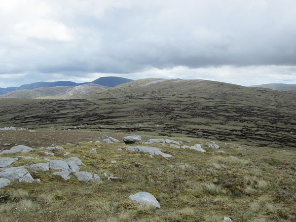 MountainViews.ie Picture about mountain Cnoc na bhFaircheach in area Donegal NW, Ireland