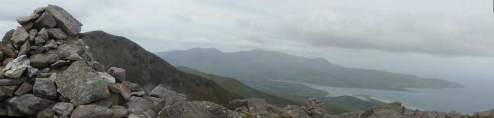 MountainViews.ie Picture about mountain Stradbally Mountain in area Central Dingle, Ireland