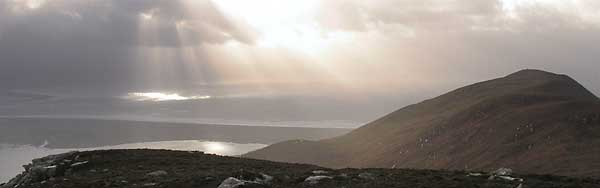 MountainViews.ie Picture about mountain Beenduff in area Slieve Mish, Ireland