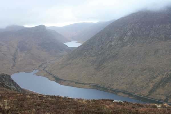 MountainViews.ie Picture about mountain Slievenaglogh in area Mourne Mountains, County Down, Ireland