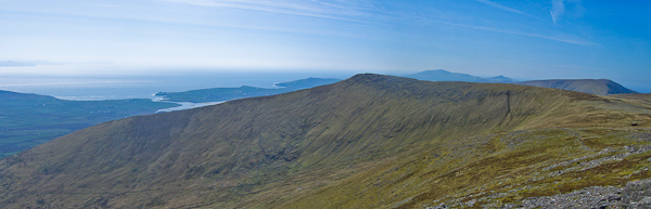 MountainViews.ie Picture about mountain Croaghskearda in area Central Dingle, County Kerry, Ireland