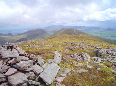 MountainViews.ie Picture about mountain Cnoc na B�n�ige in area Central Dingle, County Kerry, Ireland