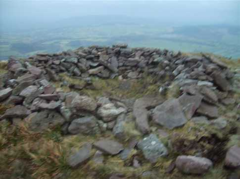 MountainViews.ie Picture about mountain Seefin Mountain E Top in area Ballyhoura Mountains, Ireland