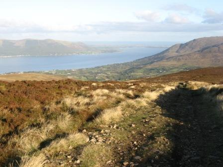 MountainViews.ie Picture about mountain Clermont Carn in area Cooley/Gullion, Ireland