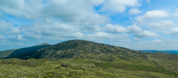 MountainViews.ie Picture about mountain Nowen Hill SW Top (<i>Cnoc na nAbhann (mullach thiar theas)</i>) in area West Cork Mountains, Ireland