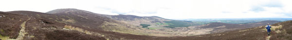 MountainViews.ie Picture about mountain Mount Leinster (<i>Stua Laighean</i>) in area Blackstairs Mountains, Ireland