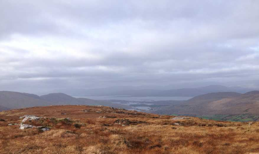 MountainViews.ie Picture about mountain Knocknagorraveela in area Caha Mountains, Ireland