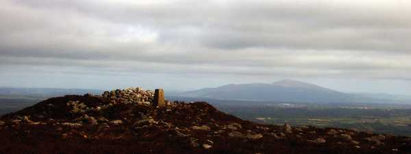 MountainViews.ie Picture about mountain Slieveanard NE Top in area Galty Mountains, County Tipperary, Ireland