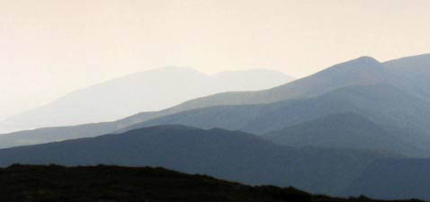 MountainViews.ie Picture about mountain Caunoge in area Glenbeigh Horseshoe, Ireland