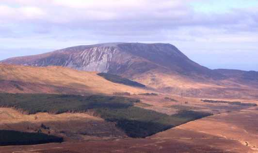 MountainViews.ie Picture about mountain Saggartnadooish in area Donegal NW, Ireland