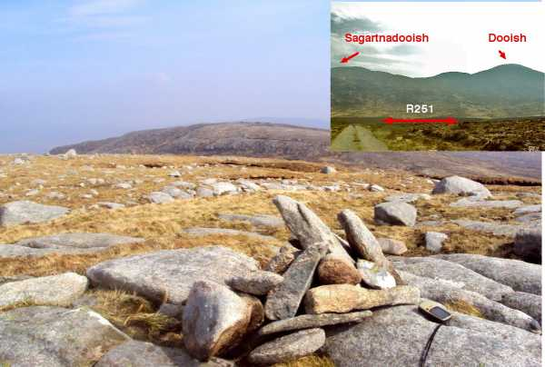 MountainViews.ie Picture about mountain Sagart na Dubhaise in area Donegal NW, Ireland