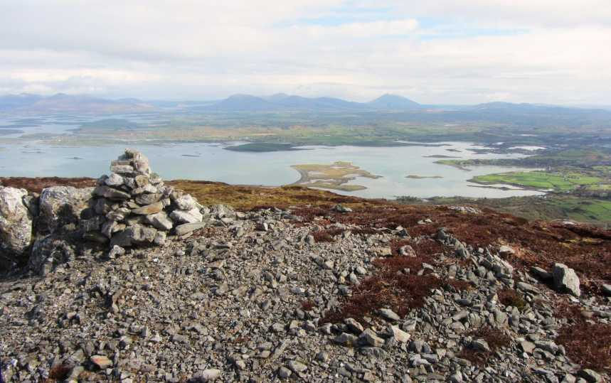 MountainViews.ie Picture about mountain Crott Mountain in area Croagh Patrick, Ireland