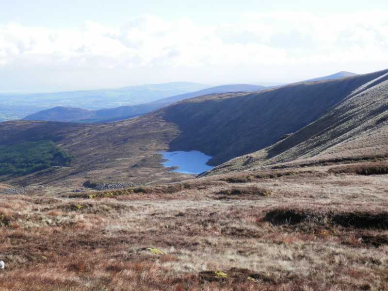 MountainViews.ie Picture about mountain Corrigasleggaun in area Dublin/Wicklow, Ireland