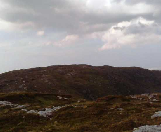 MountainViews.ie Picture about mountain Cnoc na Péiste in area Donegal SW, Ireland
