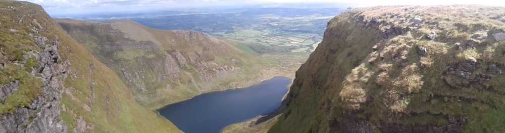 MountainViews.ie Picture about mountain Fauscoum in area Comeragh Mountains, Ireland
