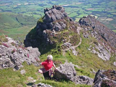 MountainViews.ie Picture about mountain Kilclooney Mountain in area Comeragh Mountains, Ireland