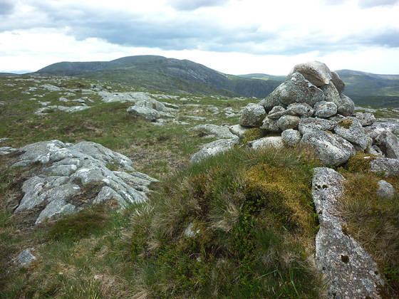MountainViews.ie Picture about mountain Cró an Locháin in area Donegal NW, Ireland