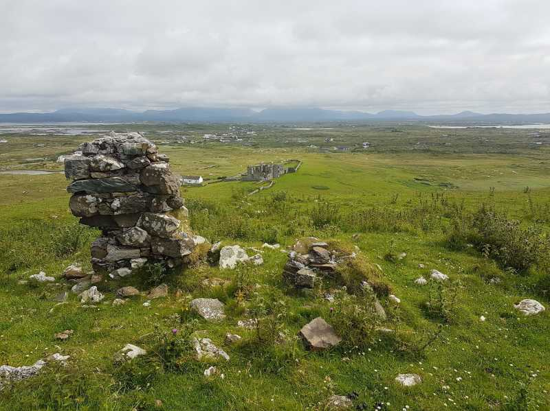MountainViews.ie Picture about mountain Doon Hill in area Galway Coastal Hill, Ireland