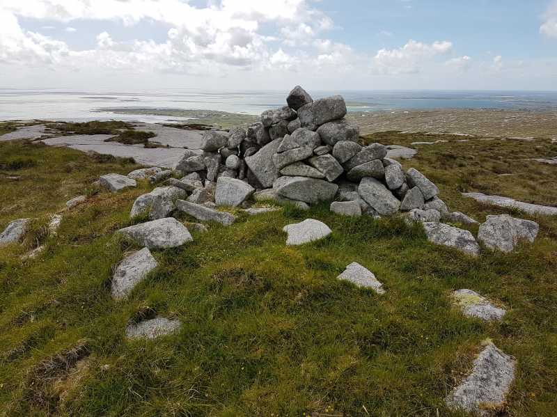 MountainViews.ie Picture about mountain Kilkieran in area Galway Coastal Hill, Ireland