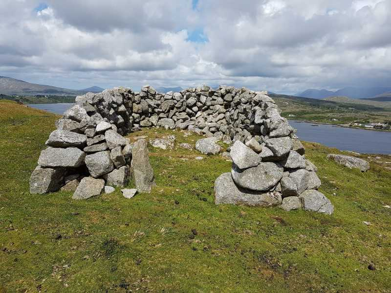 MountainViews.ie Picture about mountain Camus Hill in area Galway Coastal Hill, Ireland