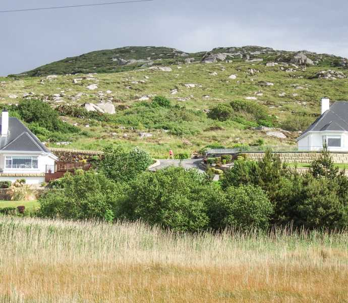 MountainViews.ie Picture about mountain Annagaire in area Donegal Coastal Hill, Ireland