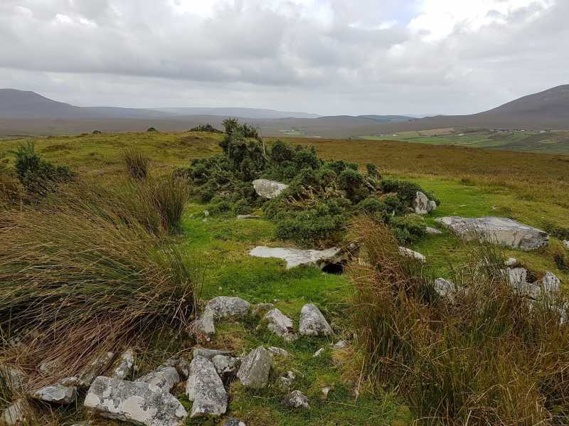 MountainViews.ie Picture about mountain Raheen in area Mayo Coastal Hill, Ireland