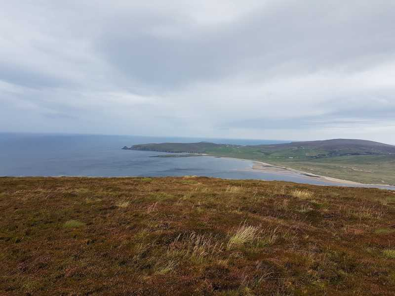 MountainViews.ie Picture about mountain Barnacuillew E.Top in area Mayo Coastal Hill, Ireland