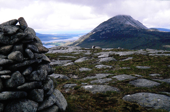 MountainViews.ie Picture about mountain Maumlack in area Donegal NW, Ireland