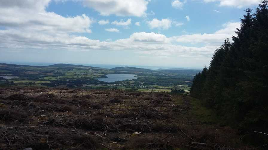 MountainViews.ie Picture about mountain Ballinafunshoge in area Dublin/Wicklow, Ireland