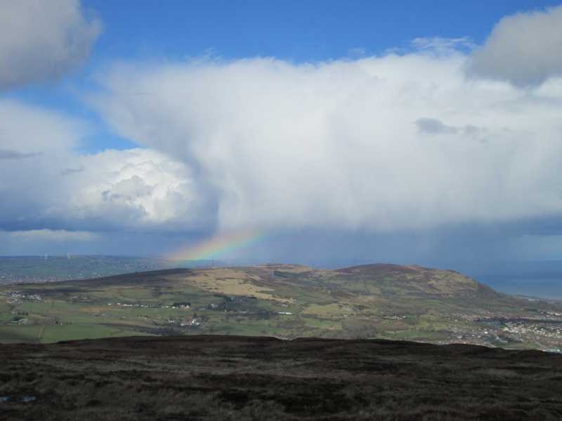 MountainViews.ie Picture about mountain Divis in area Belfast Hills, Ireland