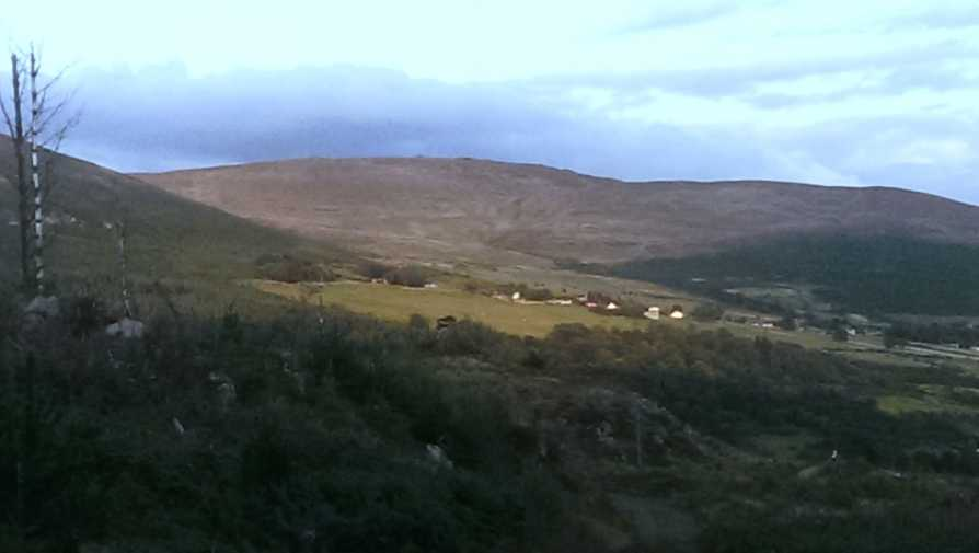 MountainViews.ie Picture about mountain Carnavaddy in area Cooley/Gullion, Ireland