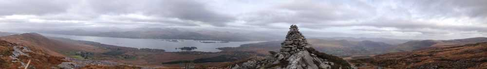 MountainViews.ie Picture about mountain Feorus East in area Caha Mountains, Ireland