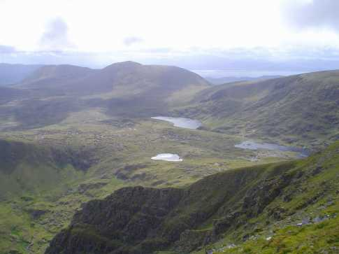 MountainViews.ie Picture about mountain Slievanea NE Top in area Central Dingle, County Kerry, Ireland
