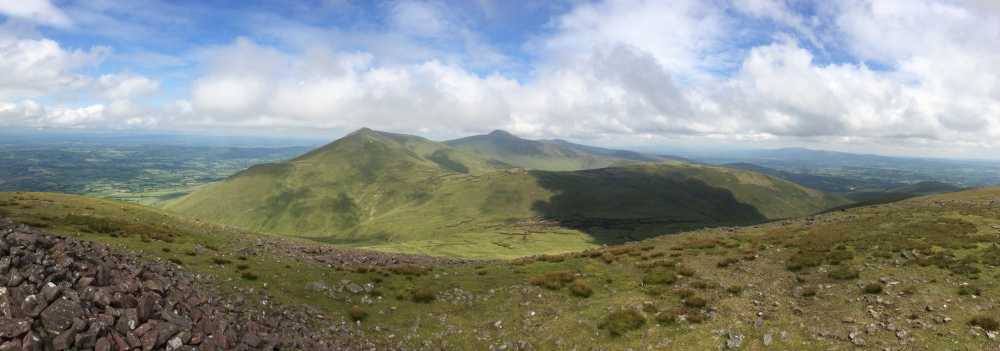 MountainViews.ie Picture about mountain Temple Hill in area Galty Mountains, Ireland