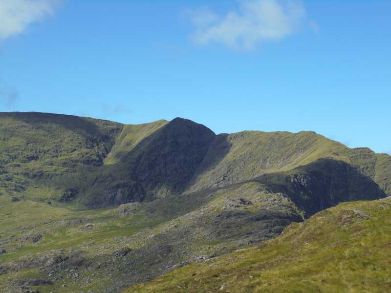 MountainViews.ie Picture about mountain Stumpa Dúloigh in area Dunkerron Mountains, Ireland