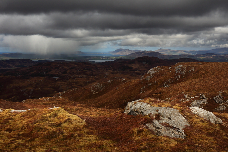 MountainViews.ie Picture about mountain Loughsalt Mountain in area Donegal NW, Ireland