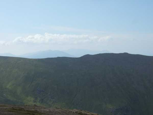 MountainViews.ie Picture about mountain Gearhane in area Slieve Mish, County Kerry, Ireland