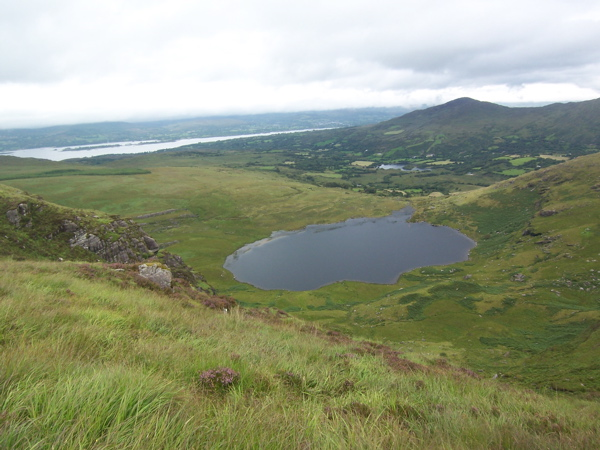 MountainViews.ie Picture about mountain Knocknagorraveela NE Top in area Caha Mountains, Ireland
