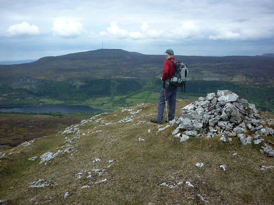 MountainViews.ie Picture about mountain Crockauns in area Dartry Mountains, Ireland