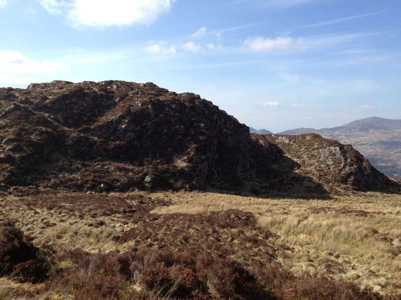 MountainViews.ie Picture about mountain Coomagearlahy W Top in area Paps/Derrynasaggart, Ireland