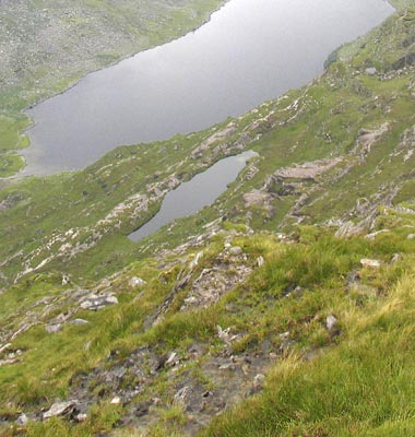 MountainViews.ie Picture about mountain Coomacarrea in area Glenbeigh Horseshoe, Ireland