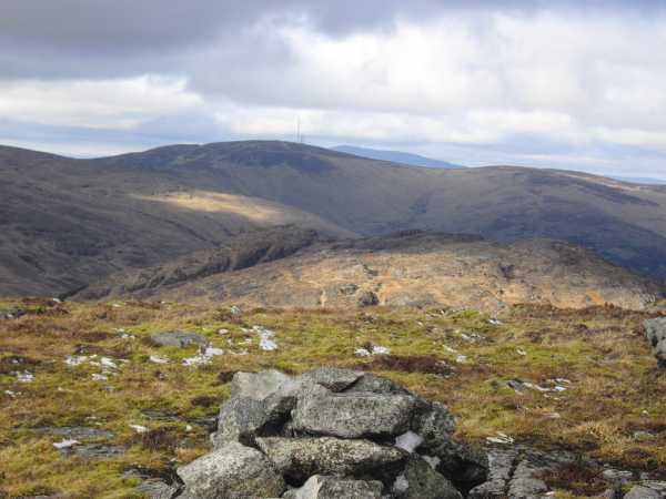 MountainViews.ie Picture about mountain The Ravens Rock in area Cooley/Gullion, Ireland