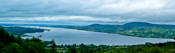 MountainViews.ie Picture about mountain Tountinna in area Shannon, Ireland