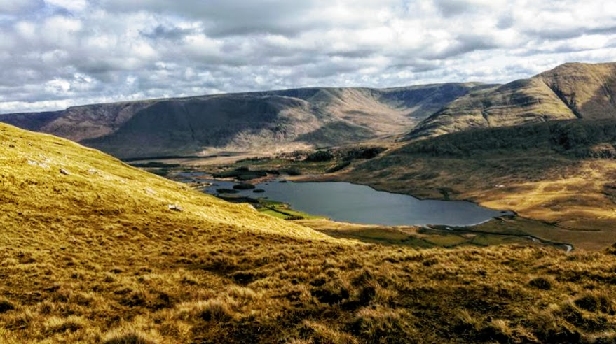 MountainViews.ie Picture about mountain Barrclashcame in area Sheeffry Hills, Ireland